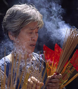 Incense Use Causes Cancer Of The Respiratory System