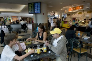 Airplane Food And Airport Food, A Personal Travel Experience