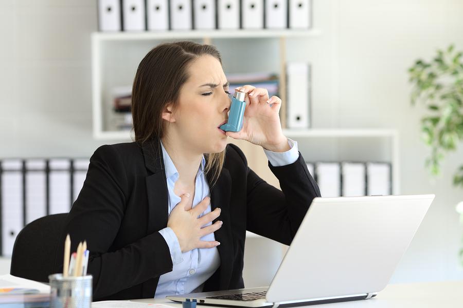 acute adult asthma onset