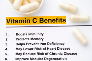 Health Benefits from Vitamin C Supplements